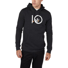 tentree Ten Hoodie Herre Meteorite Black Heather